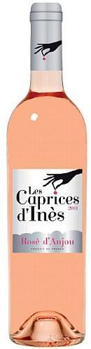 Rosé Caprices d'Inès Loire Propriétés