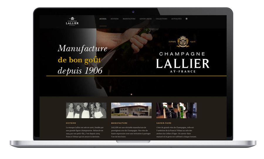 Champagne agence web