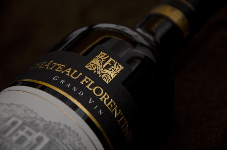 Ch 226 Teau Florentine Vin Du Liban Monogramme Maison De