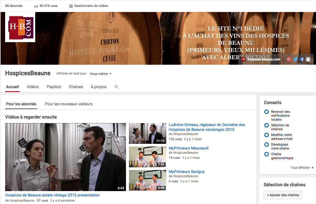 agence Community management vin