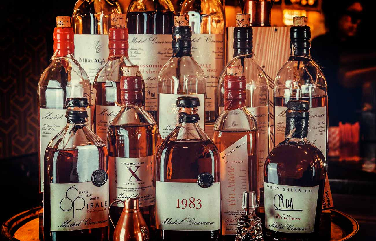 Monogramme marketing luxury webdesign websites whisky